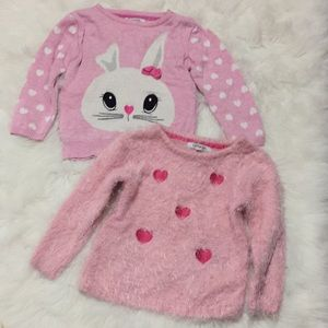 George lot of 2 sweater size 4T